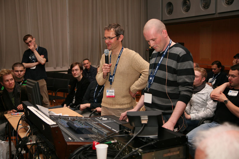 AES workshop - MIX NEW YEAR'S CONCERT